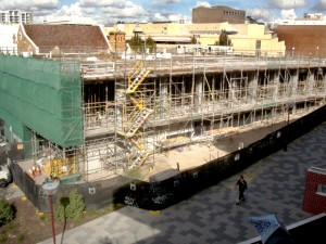 June 2014 - the ground floor taking shape